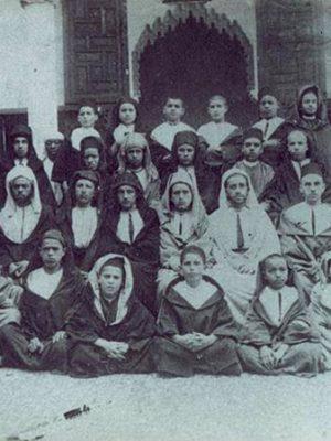 المدرسة الإسلامية لأبناء الاعيان لمدينة سلا 1926 – 1927