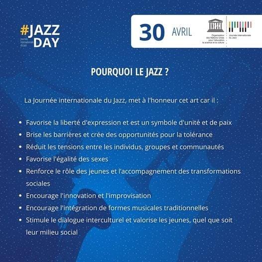 30 أبريل : اليوم الدولي لفن الجاز